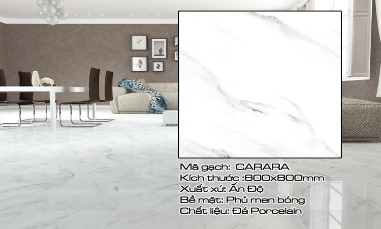 Gạch Lát Nền 80x80 CARARA