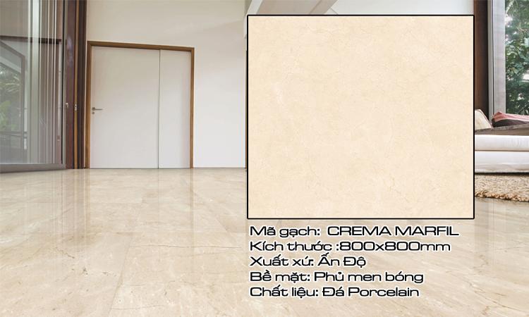 Gạch Lát Nền 80x80 CREMAMARFIL