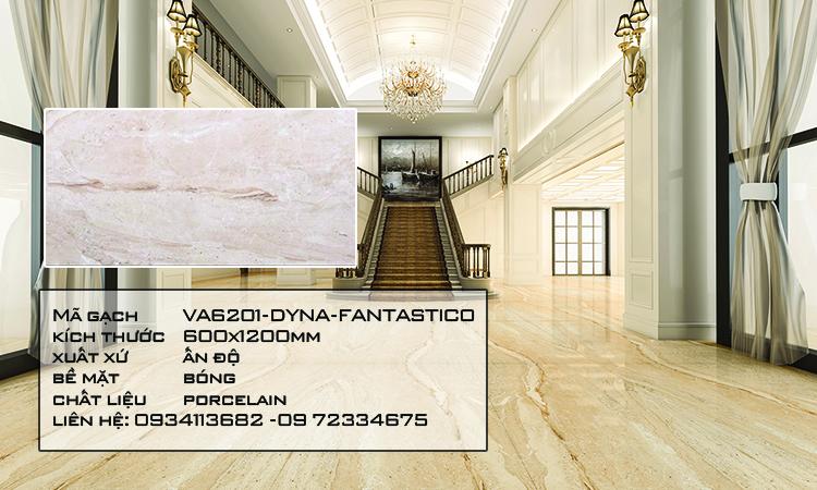 Gạch Nhập Khẩu Ấn Độ VA6201 600X1200 DYNA FANTASTICO