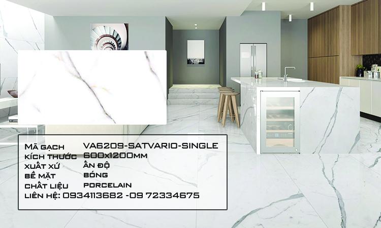 Gạch Nhập Khẩu Ấn Độ VA6209 600X1200 SATVARIO SINGLE