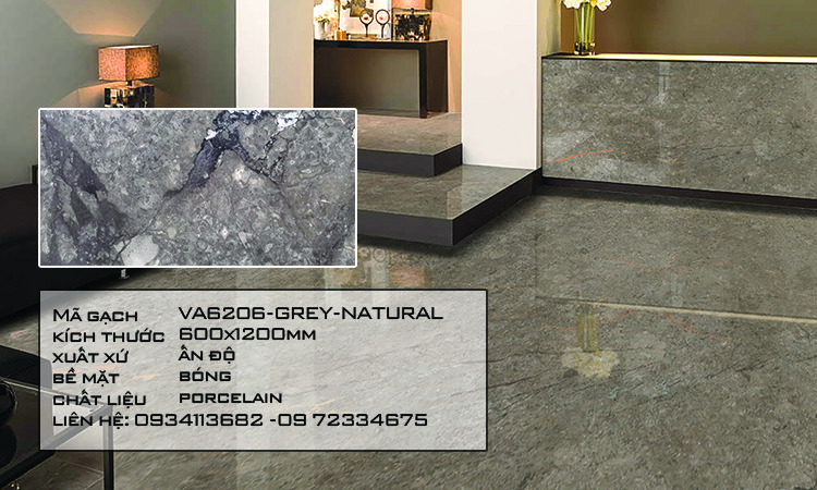 Gạch Nhập Khẩu Ấn Độ VA6208 600X1200 STATURIO GOLD