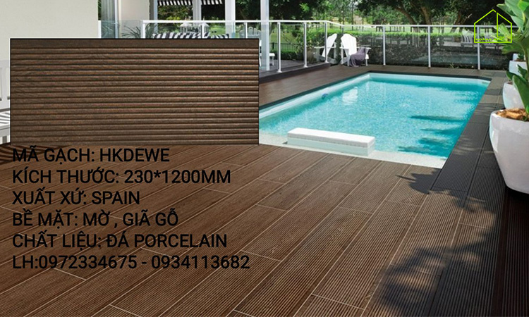 Gạch giả gỗ 20x120 -HKDEWE