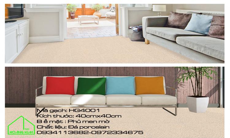 Gạch Lát Sàn 40x40 HG4001