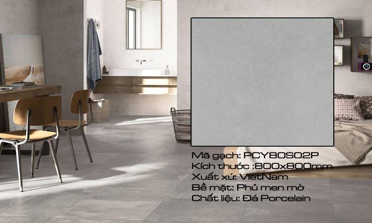 Gạch Lát Sàn 80x80 PCY80S02