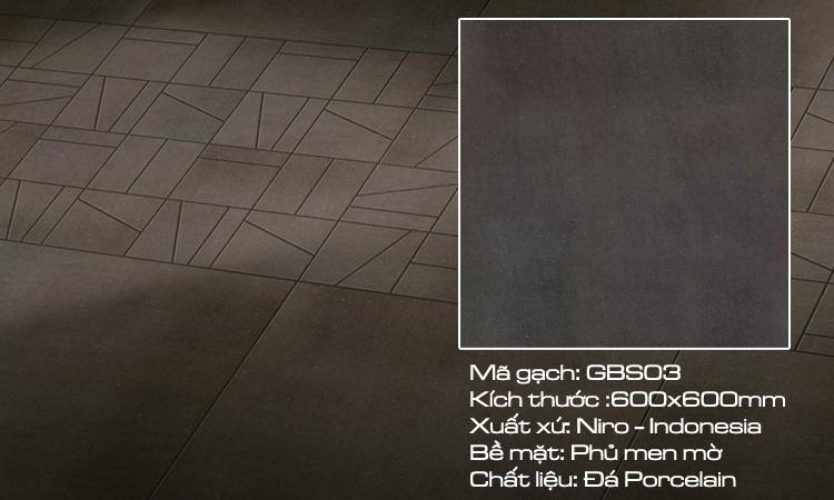 Gạch nhập khẩu 60x60 Indoneisa GBS03